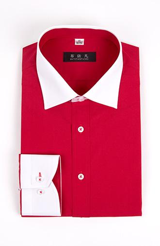 全新《时尚·红色》衬衫外八字领系列