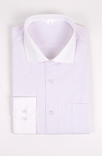 全新《时尚·条纹》衬衫大一八字领系列