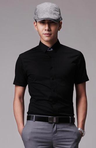 全新《经典·黑色》短袖衬衫系列