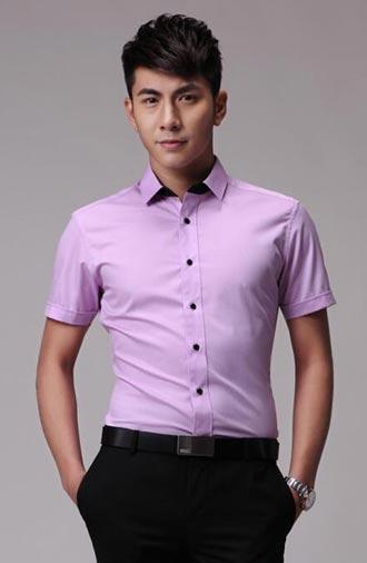 全新《经典·浅粉》短袖衬衫系列