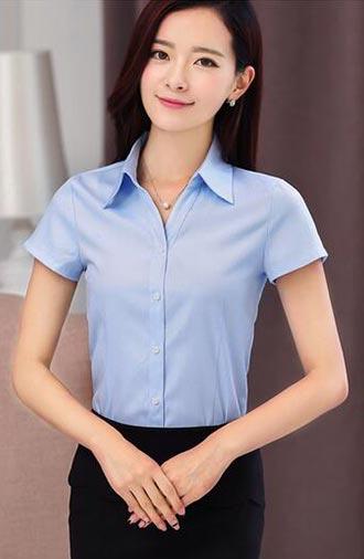 全新《经典·浅蓝》短袖衬衫系列