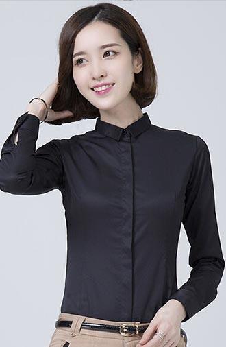 全新《经典·纯黑》短袖衬衫小方领系列