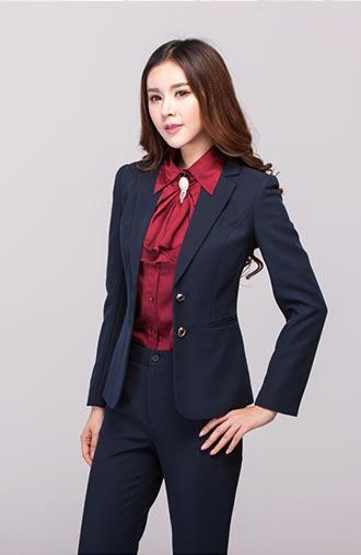 全新《经典·青蓝》女士西服系列