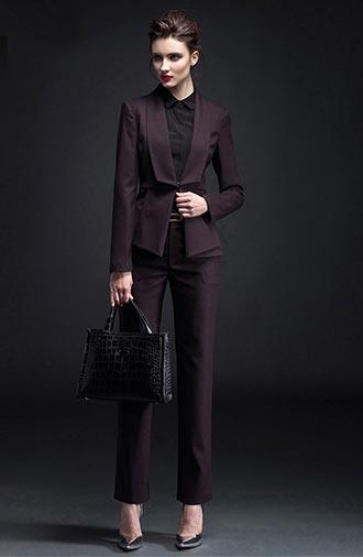 全新《商务·酒红》女士西服系列