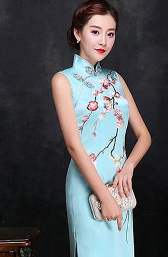 全新《时尚·纯色》旗袍系列