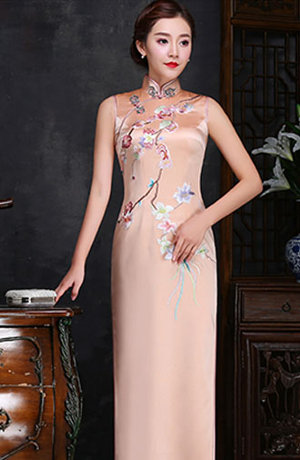 全新《时尚·金色》旗袍系列
