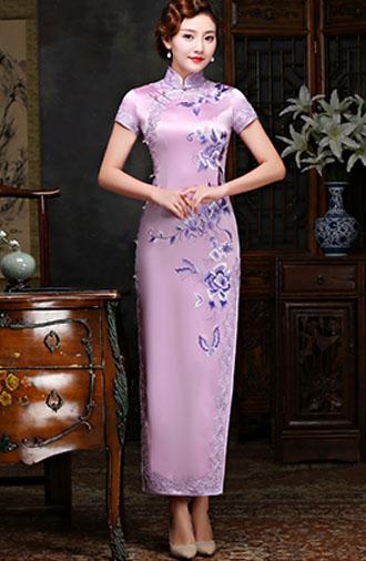 全新《时尚·浅粉》旗袍系列